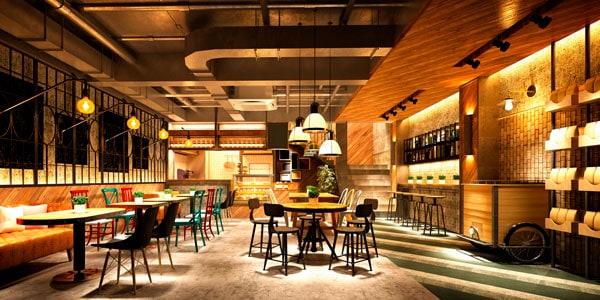 reforma de restaurantes en Aguadulce
